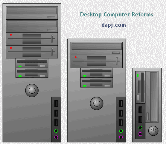 Desktop Computer Reforms