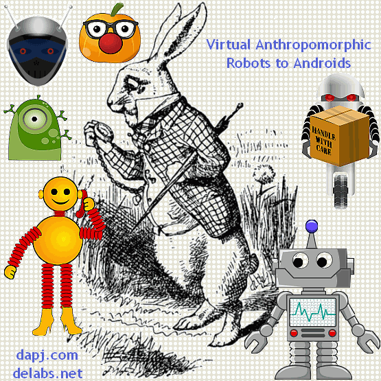 Anthropomorphic Robots to Androids